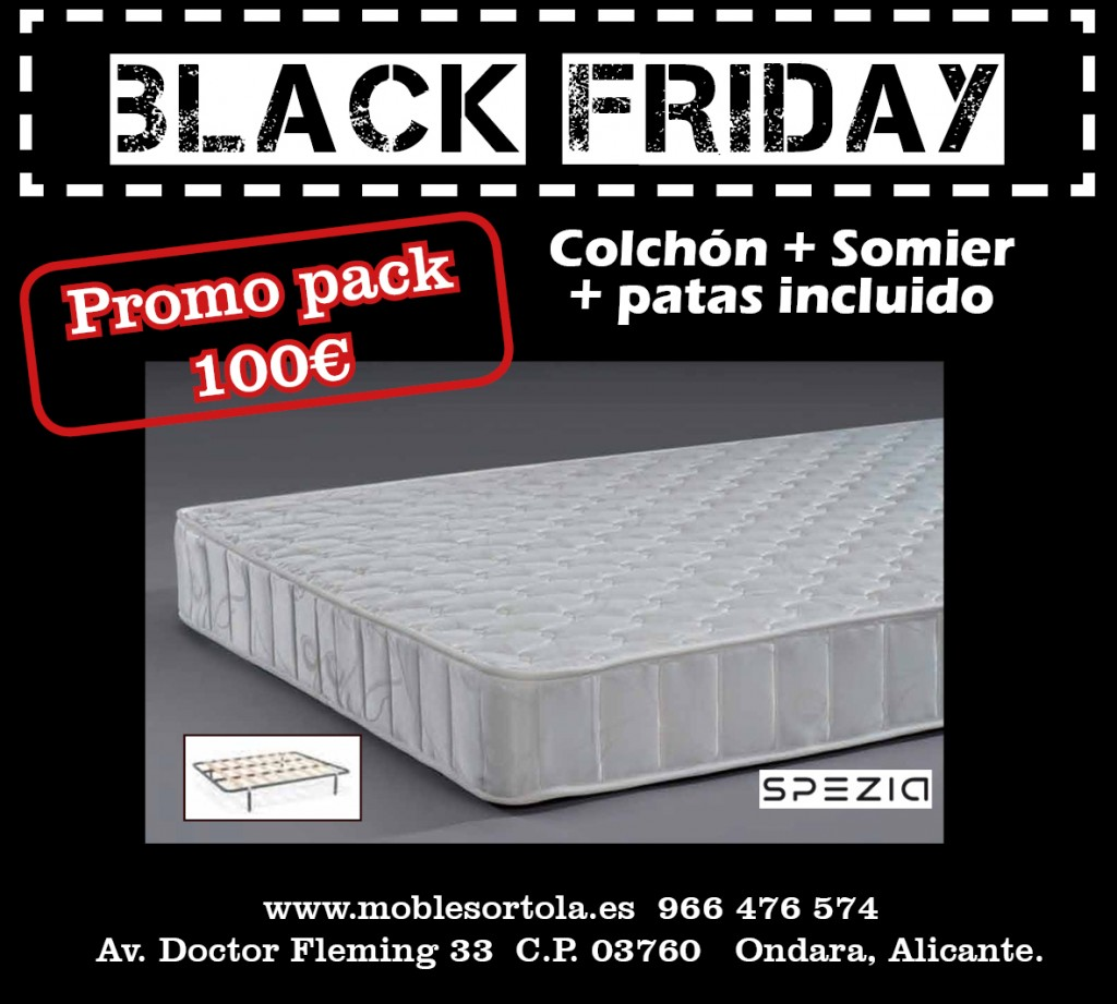 black friday promoción