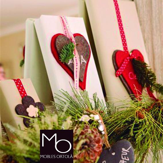 Envolver los regalos con mucho amor